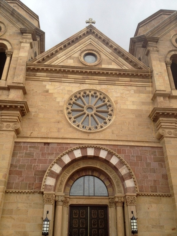 Cathedral Basilica of St Francis of Assisi, Santa Fe//The Spicy RD