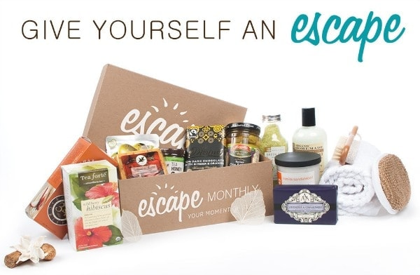 Escape Monthly Luxury Box // The Spicy RD