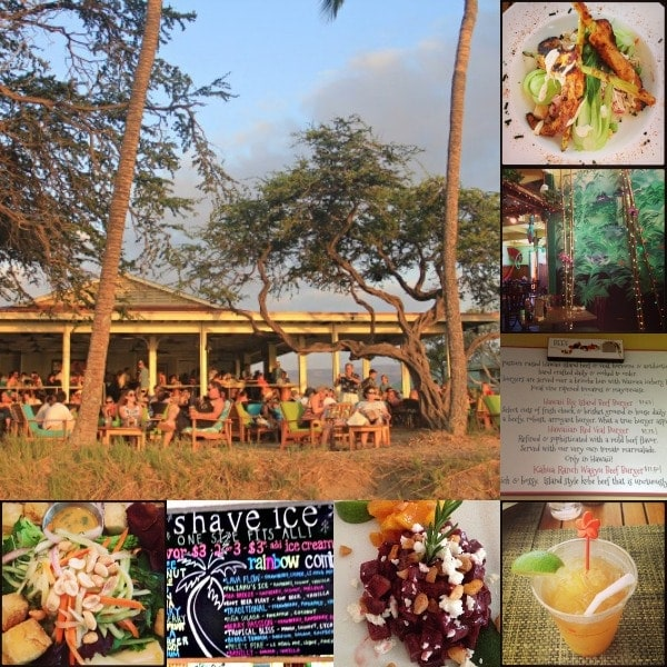 Eats and Drinks on The Big Island, Hawaii