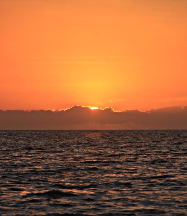 Hawaiian Sunset, The Big Island, Hawaii // The Spicy RD