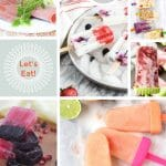 Healthy Popsicle Recipes Collage