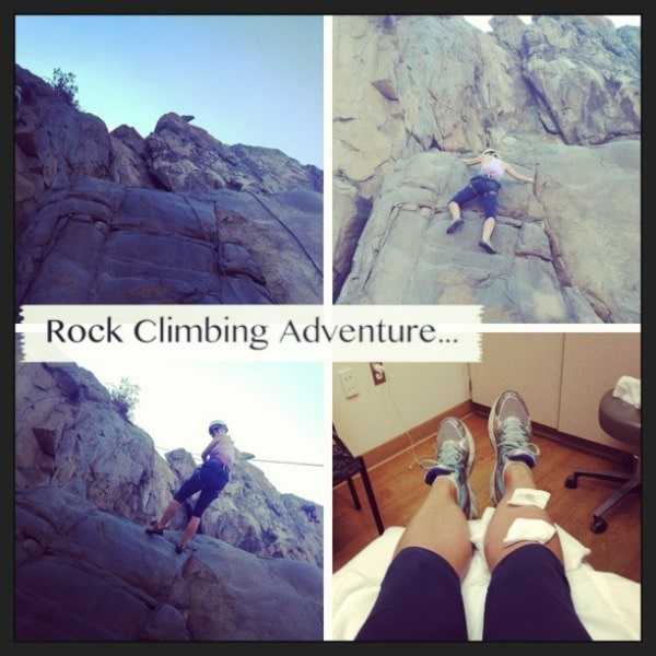 Rock Climbing at Mission Trails Regional Park // The Spicy RD