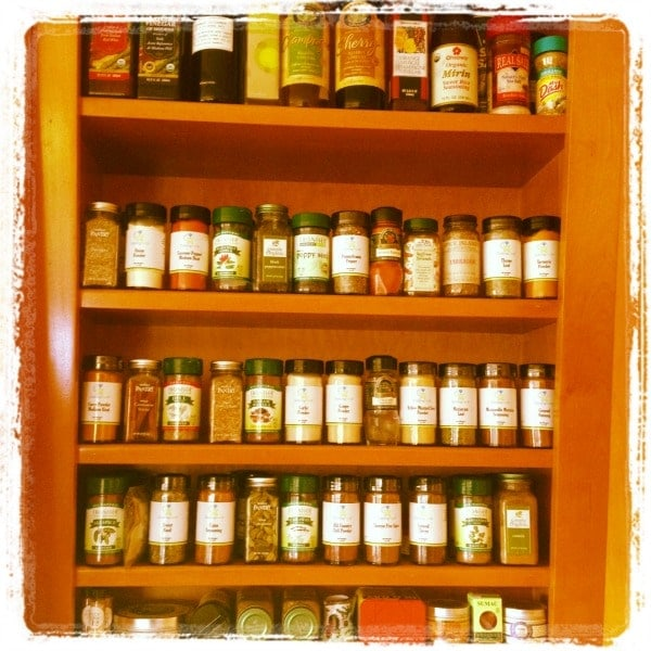 Spice Rack // The Spicy RD