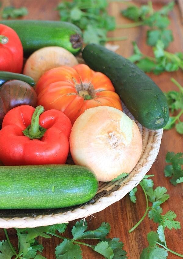 Summer Veggie // The Spicy RD