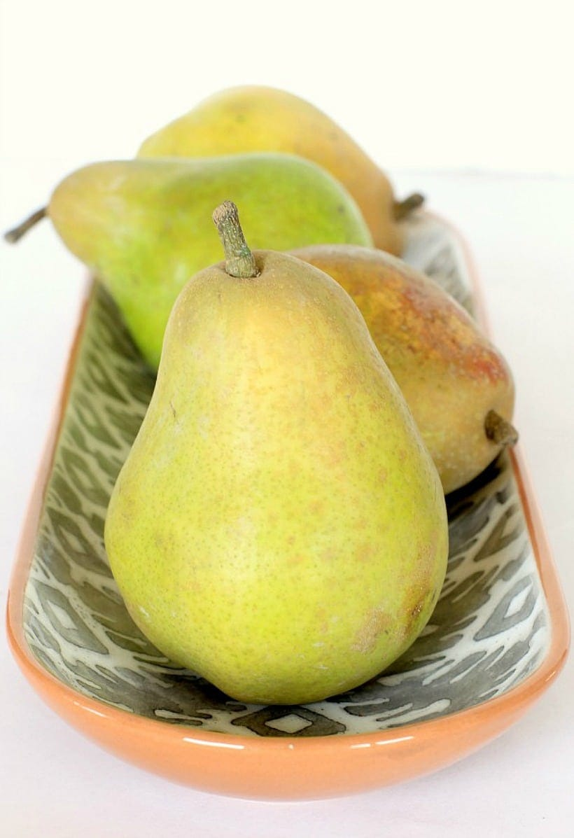 Fresh Pears ~ One of falls favorite healthy treats!