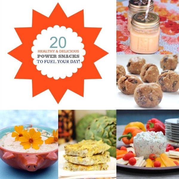 20 Healthy & Delicious Power Snacks To Fuel Your Day // The Spicy RD