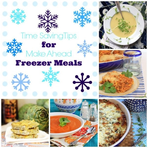 Time Saving Tips for Make Ahead Freezer Meals // The Spicy RD