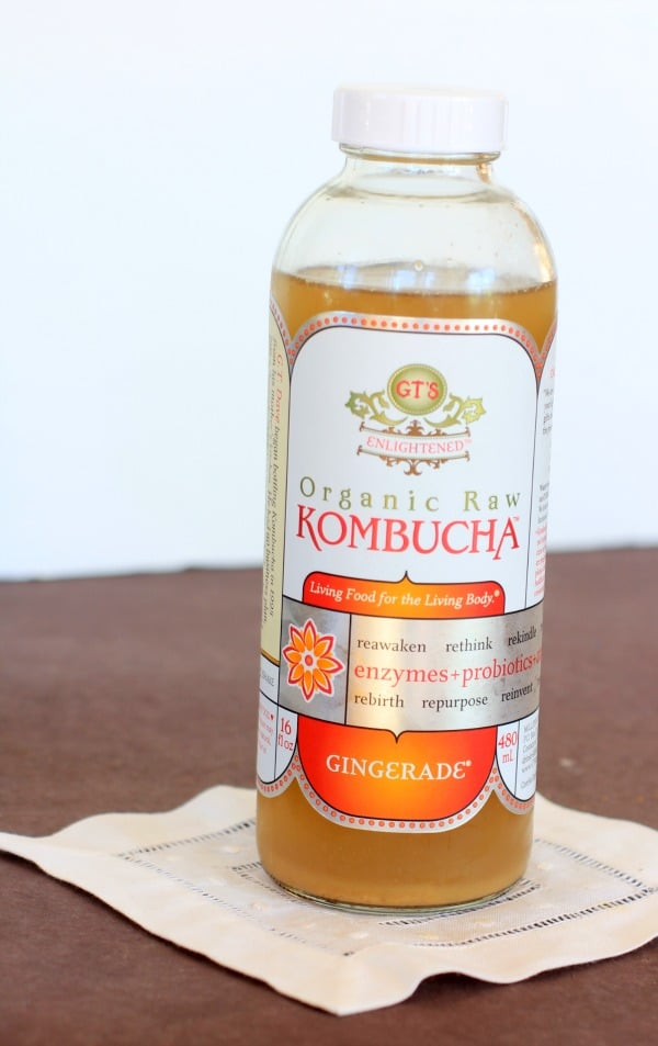 Ginger Kombucha // The Spicy RD