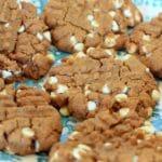 Peanut Butter Sweetpotato Cookies {White Chocolate Chips Optional}