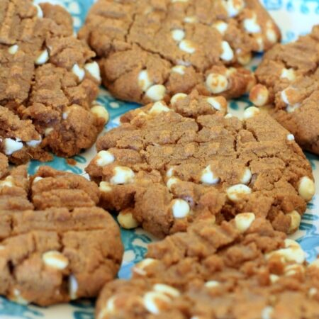 Peanut Butter Sweetpotato Teff Cookies // The Spicy RD