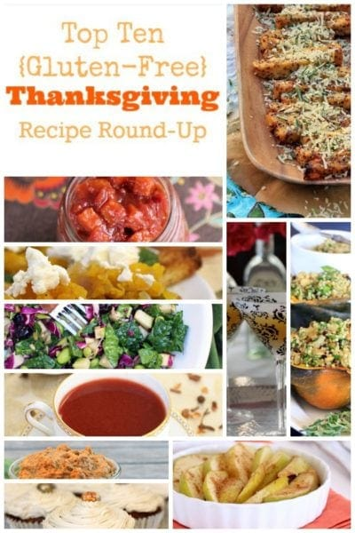 12 Healthy Gluten Free Thanksgiving Recipes Your Family Will Love