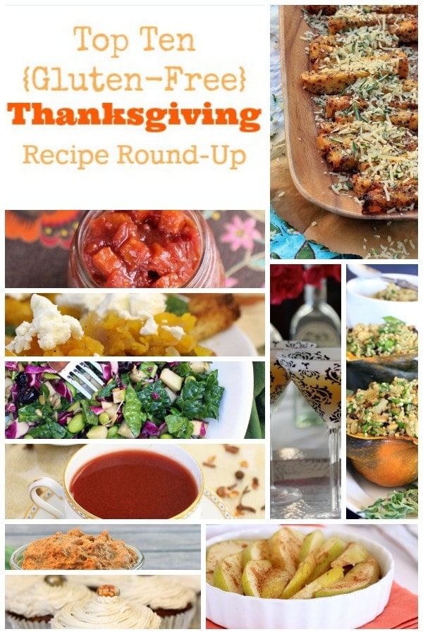 10 Healthy Gluten Free Thanksgiving Recipes Your Family Will Love!