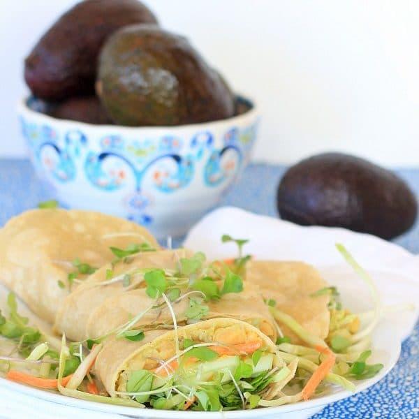 "Avocado Chickpea Mash, aka ""Smash"" + Avocado Nutrition 101"