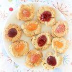 Orange Spiced Cashew Cookies {Jam Optional}