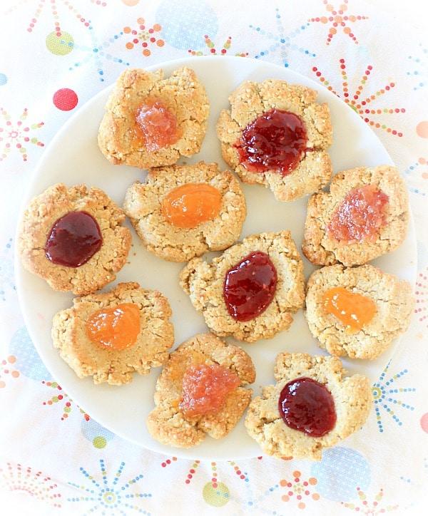 Orange Spiced Cashew Cookies // The Spicy RD #vegan #glutenfree #healthy