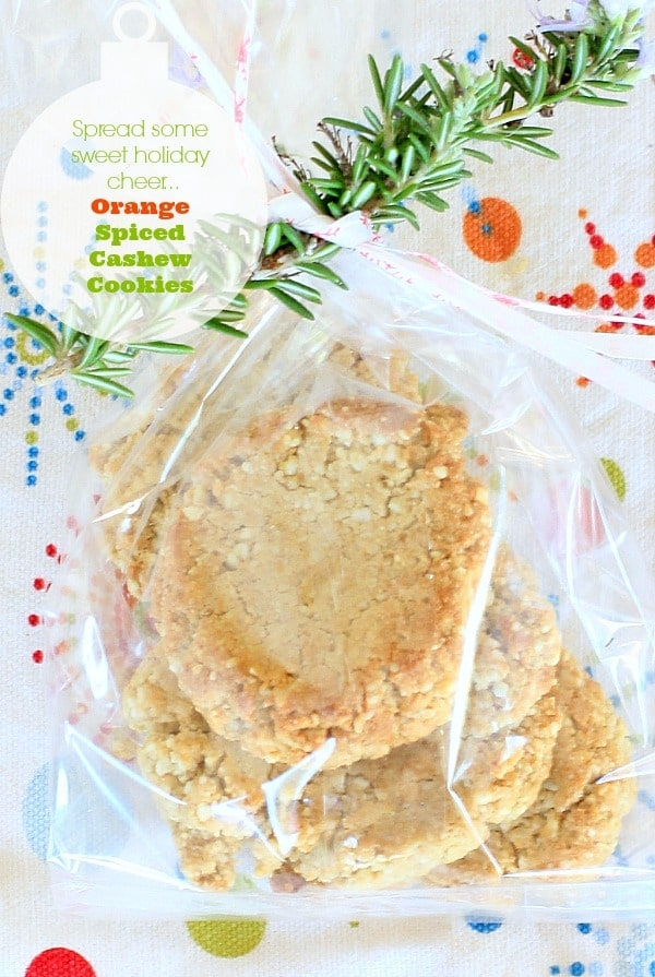 Orange Spiced Cookies #holidaycookies #holidaygift #homemade