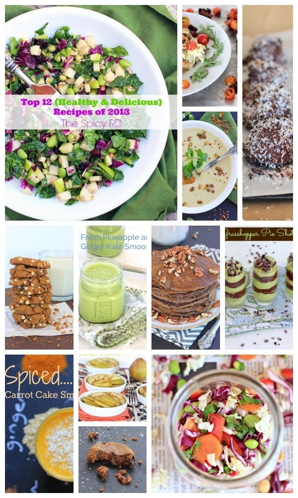 Top 12 Healthy and Delicious Recipes of 2013 // The Spicy RD