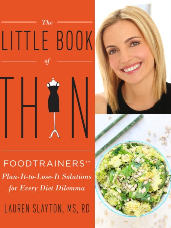 Little Book of Thin Review & Giveaway plus a Recipe for Miso Broccoli & Quinoa Salad // The Spicy RD