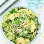 Gluten Free, Vegan Quinoa Salad w/ Miso & Broccoli + A Review of The Little Book of Thin