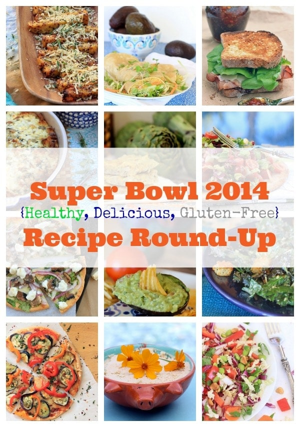 Super Bowl 2014 Recipe Round-Up {Healthy, Delicious, & Gluten-Free}