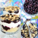 Warm Tropical Wild Blueberry Quinoa Breakfast Sundae