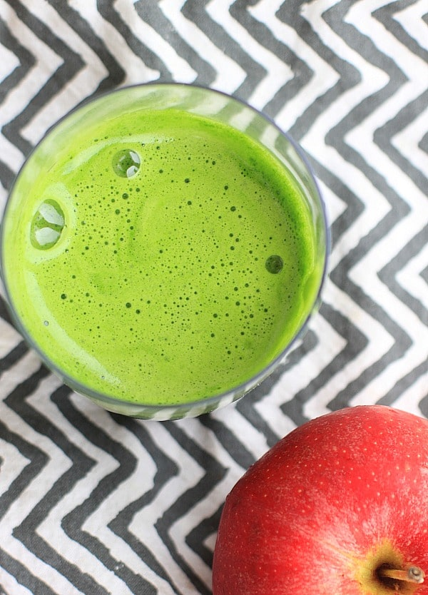 Apple Basil Kale Lime Green Juice