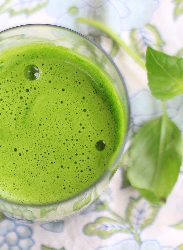 Apple Kale Lime Basil Juice