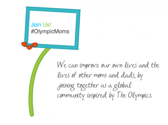 OlympicMoms 2014 - Join the fun, share fitness and nutrition tips, and cheer your family on  to a healthy lifestyle! #OlympicMoms