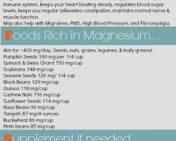 Marvelous Magnesium Infographic~Health, Food & Supplements // The Spicy RD