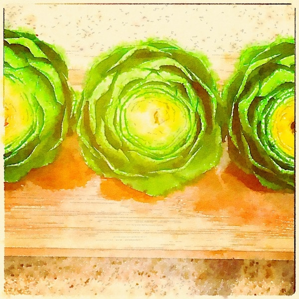 Spring Veggies~Artichoke Love // The Spicy RD