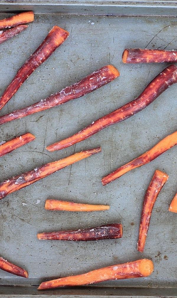 Roasted Petite Carrots