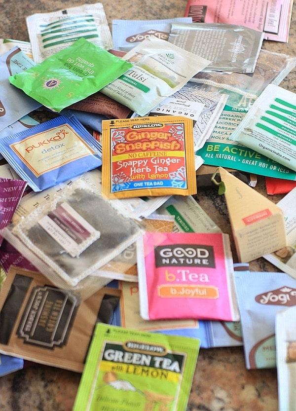 Tea bags // EA Stewart