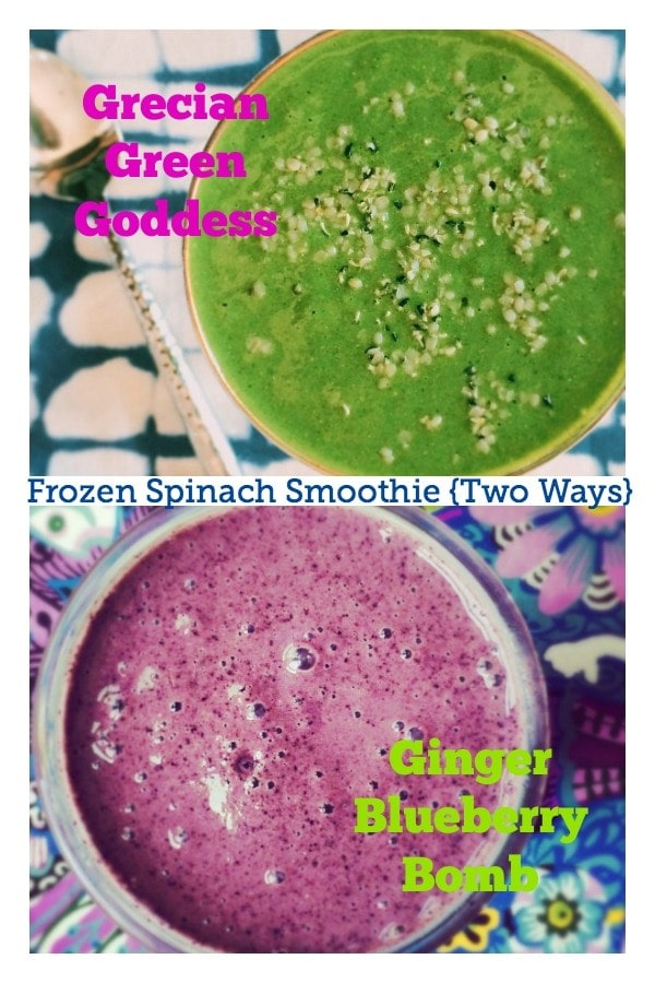 Life Hacks, Duct Tape + How to Make a Frozen Spinach Smoothie