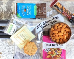 Gluten-Free Travel Tips // The Spicy RD #snacks #glutenfree #travel