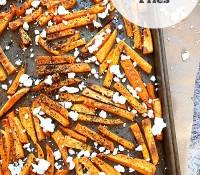 "Greek Feta Sweet Potato Fries, Gluten Sensitivity & ""That"" Study"