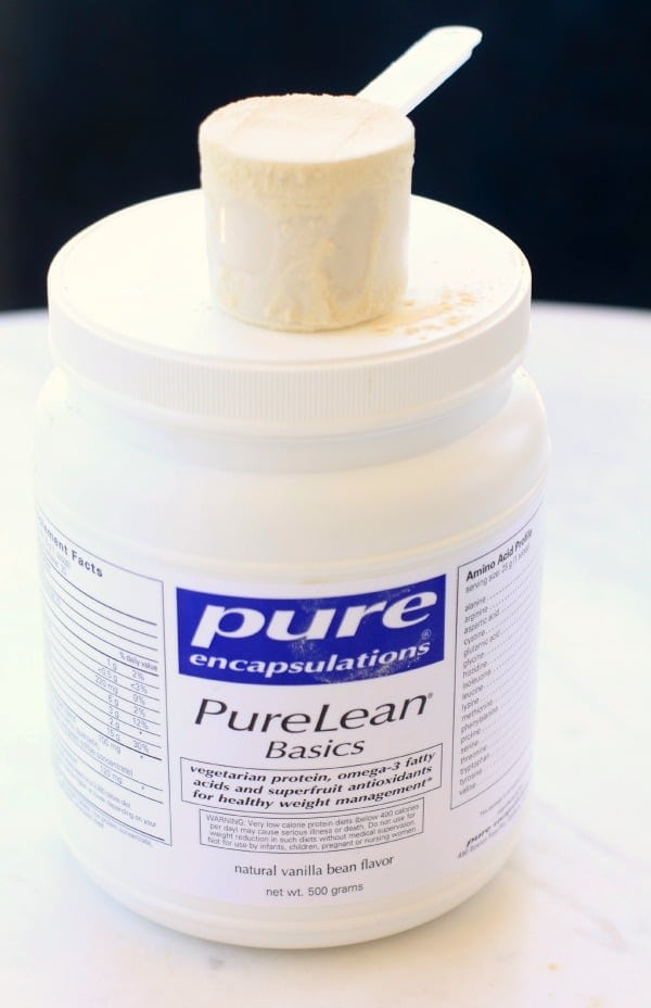 Pure Encapsulations PureLean Vegan Protein Powder