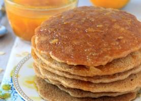 Recipe ReDux || Cinnamon Orange Syrup + Oatmeal Pancakes