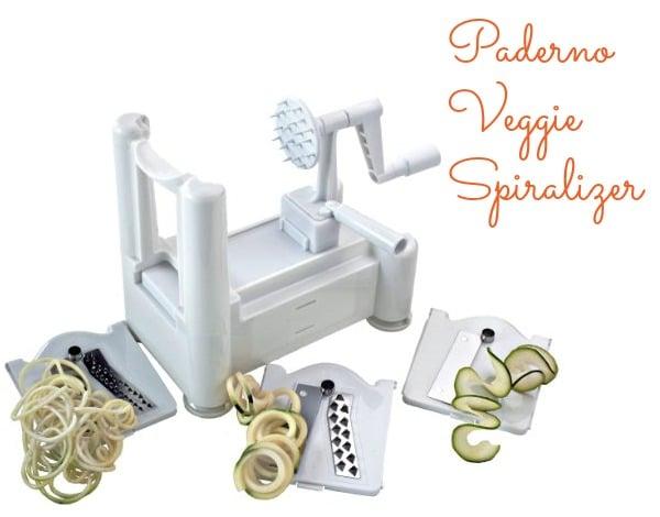 Paderno Veggie Spiralizer
