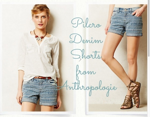 Pilcro Denim Shorts from Anthropologie