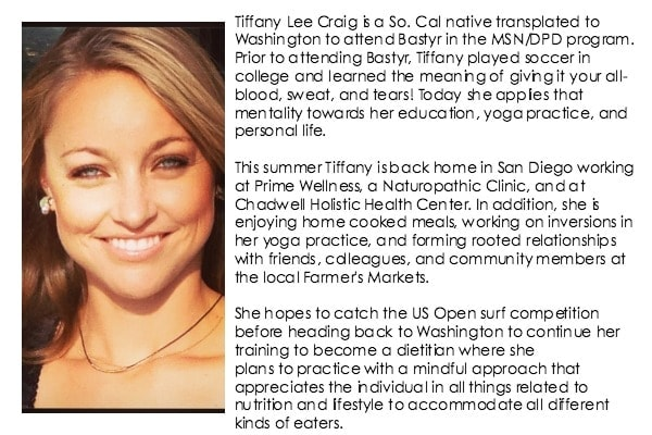 Tiffany Lee Craig Bio