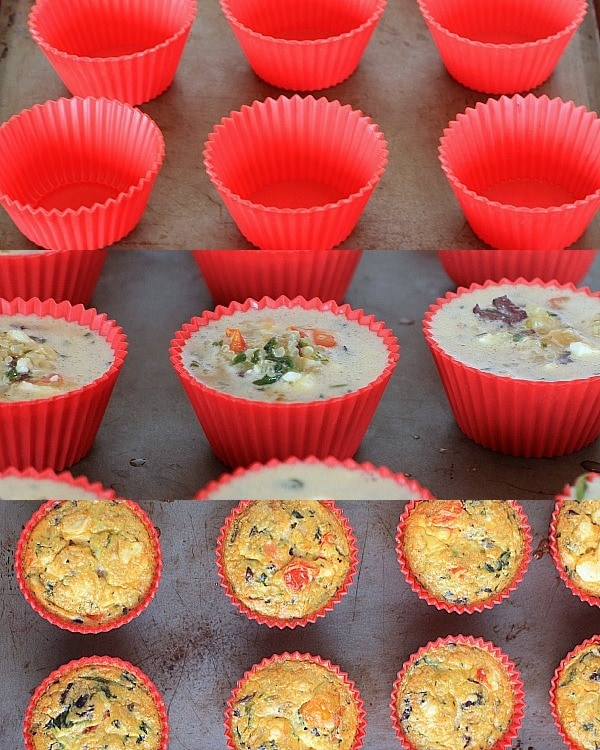 Mediterranea Feta & Quinoa Egg Muffins