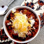 Easy Weeknight Chili + 5 Reasons to Eat A Bowl Today