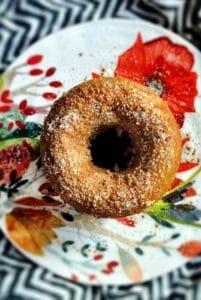 Homemade Spiced Apple Cider Gluten Free Doughnuts