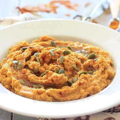 Savory Spiced Pumpkin Hummus