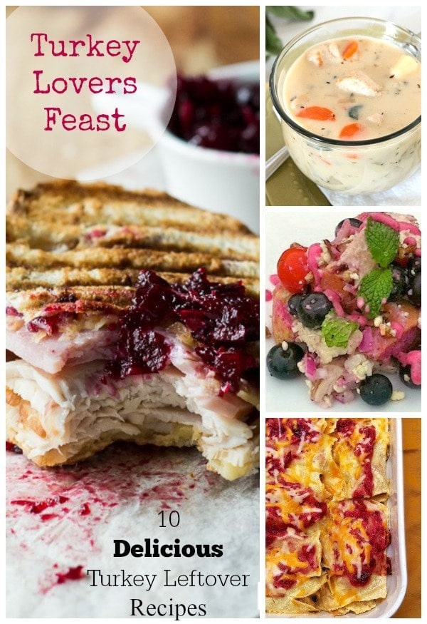 10 Delicious Turkey Leftover Recipes // EA Stewart-The Spicy RD