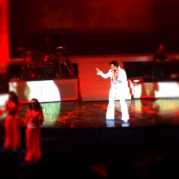 Elvis is alive! Burning Love is a must see show in Lahaina, Maui!
