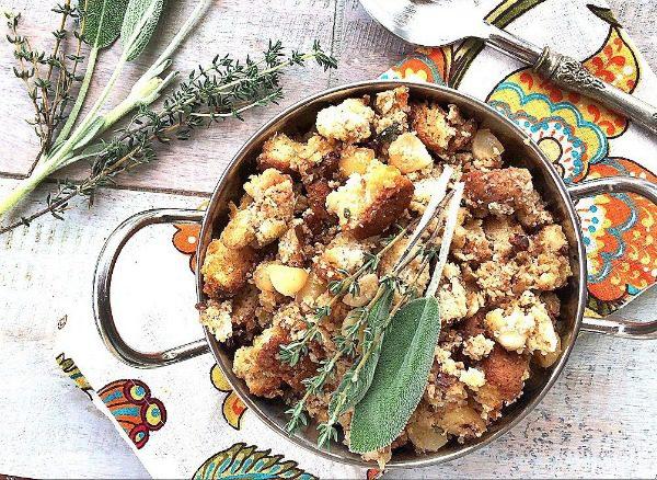 Macadamia Nut and Tart Cherry Stuffing