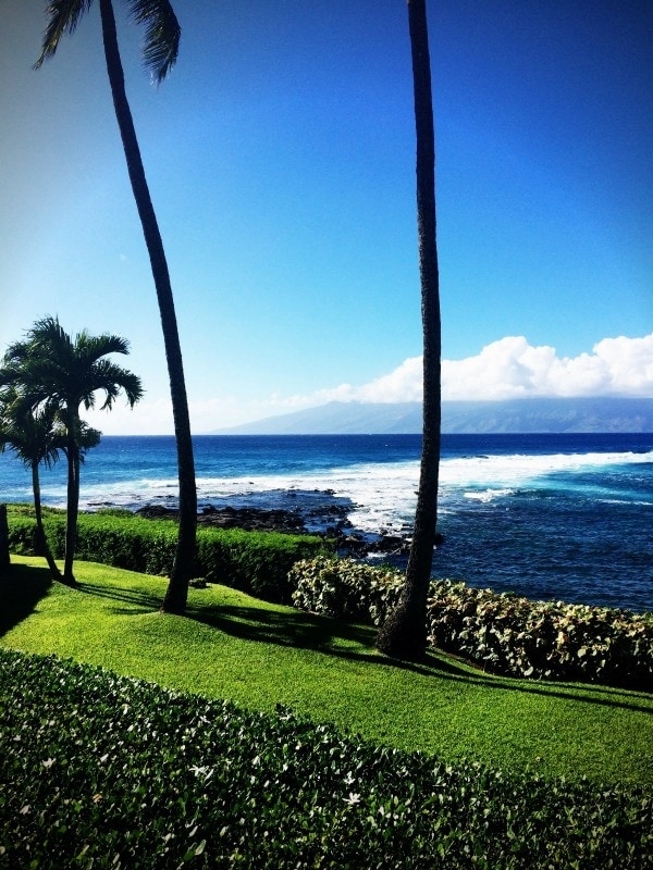 The perfect place for happy hour! Merriman's Kapaula in Maui.