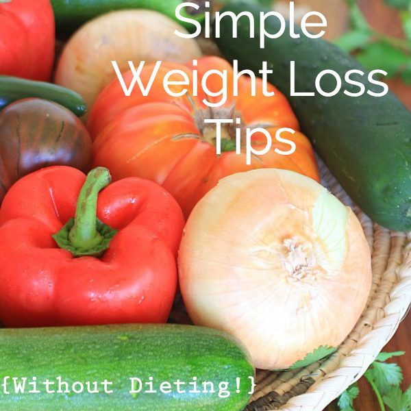 Six Simple Weight Loss Tips,Without Dieting, plus a Slim by Design review and Giveaway at The Spicy RD.