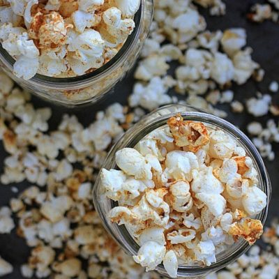 This Smokey Spiced Chili Lime Popcorn will satisfy all your healthy snack cravings!